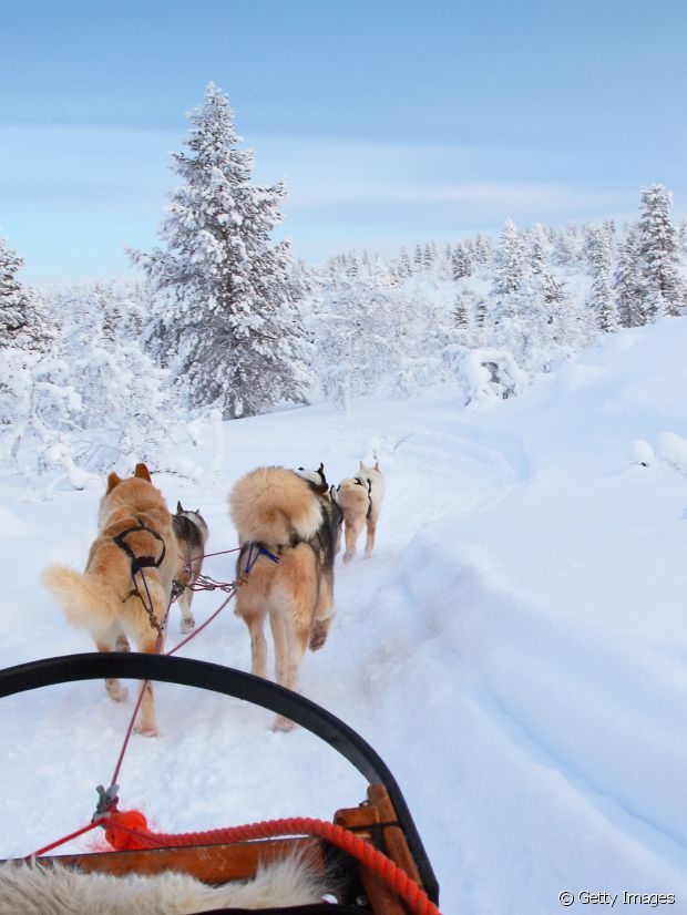 Une autre escapade polaire, en Finlande...
