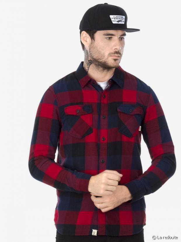 La chemise à carreaux Vans à petit prix chez La Redoute