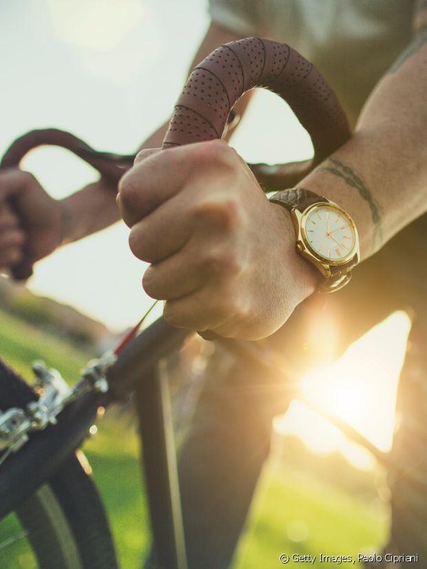 Un montre en cuir pour un esprit vintage