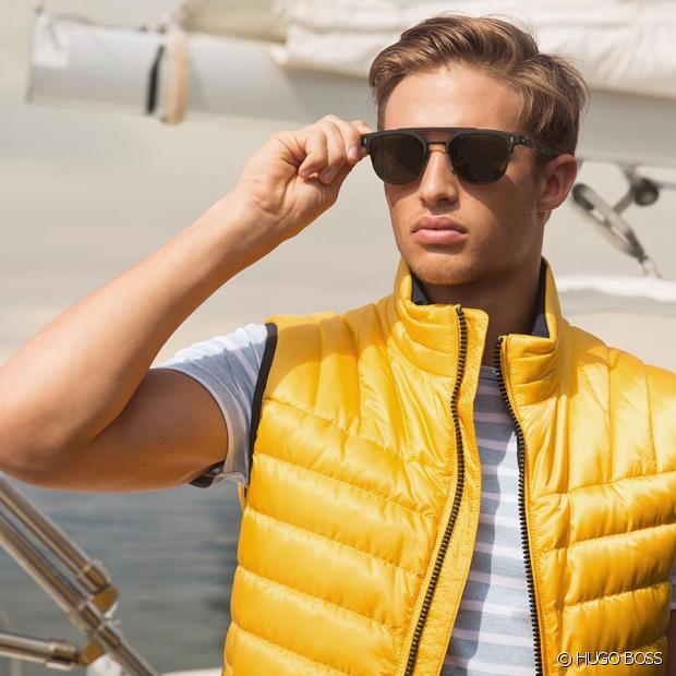 Ne jamais sous estimer l'effet d'une paire de lunettes de soleil dans un style !