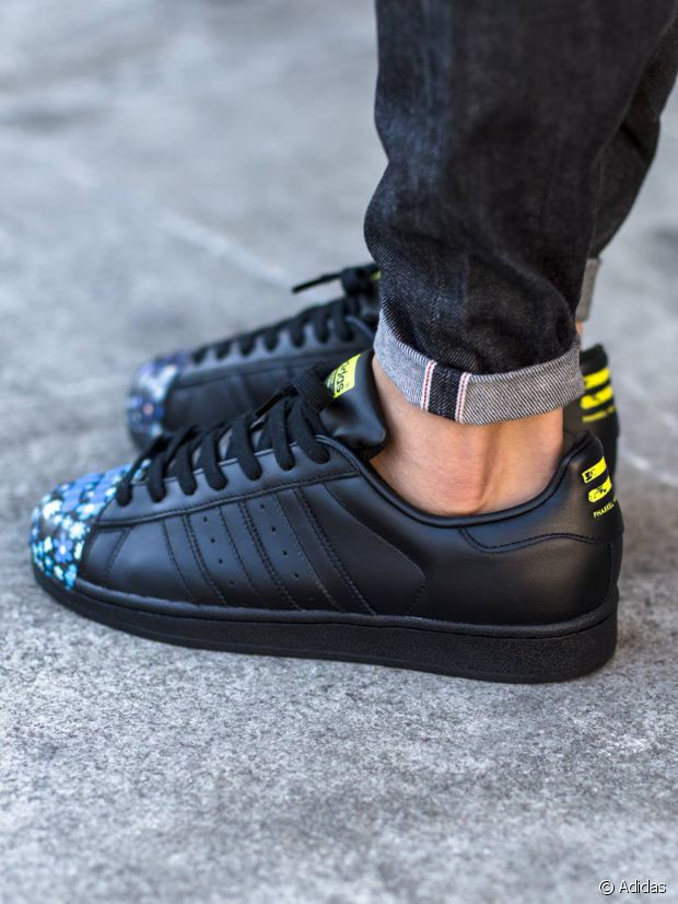 acheter populaire e5cdf c01a2 Baskets : Top 3 des collaborations entre Adidas et Pharrell ...
