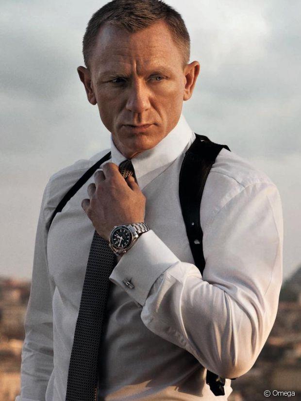 Daniel Craig, irresistible avec son Omega Seamaster dans  Skyfall