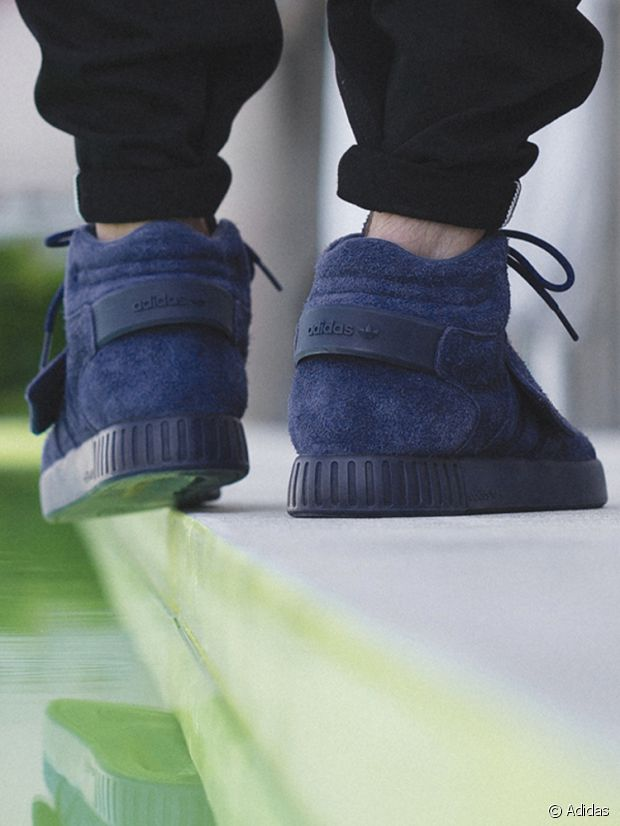 Les Tubular Strap, so chic en Blue Suede !