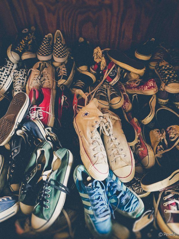 Comment laver des chaussures en toile ?