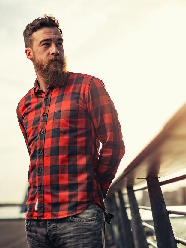 Chemise en flannelle, pour l'hiver bien sûr...