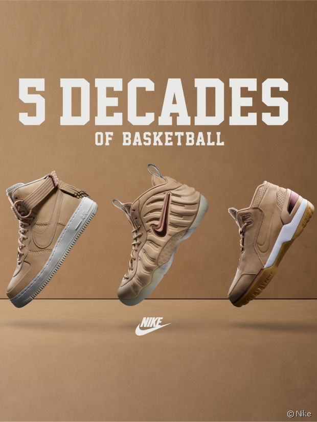 Nike - Five decades of basketball