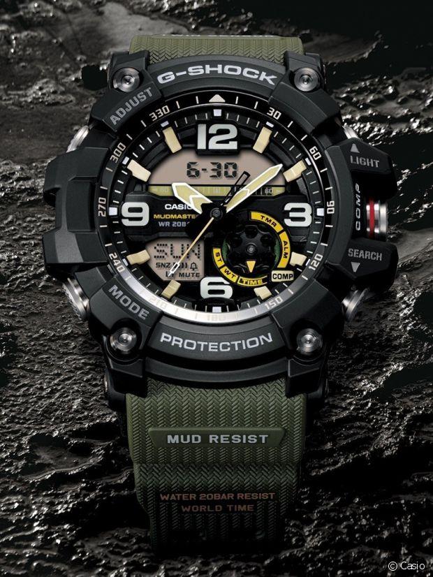 La Casio G-Shock est l'accessoire du bardoueur par excellence !