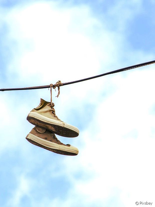 D'où vient le shoe tossing ?