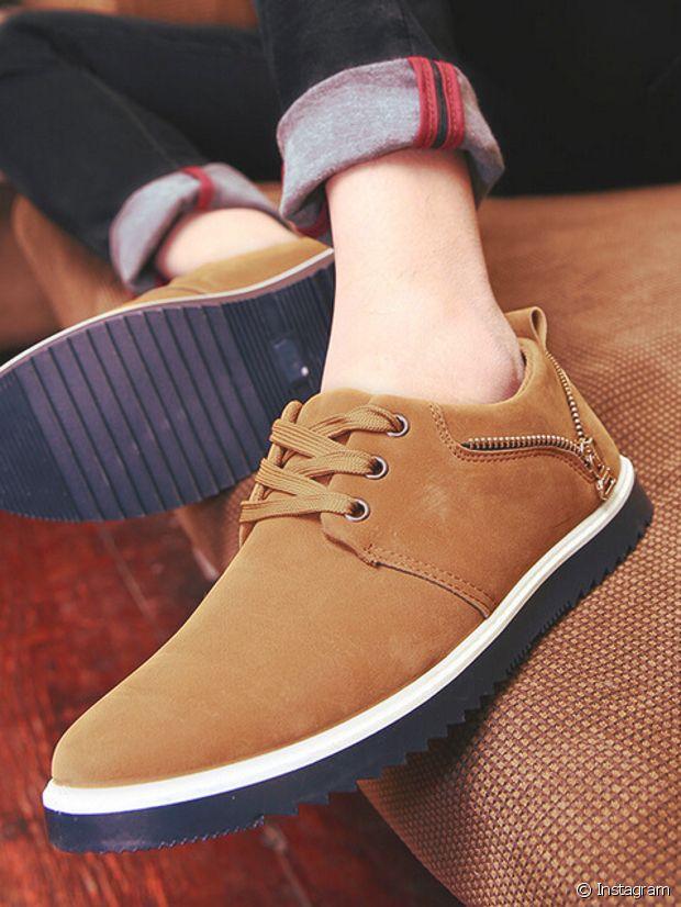 Des chaussures en daim, top du raffinement !