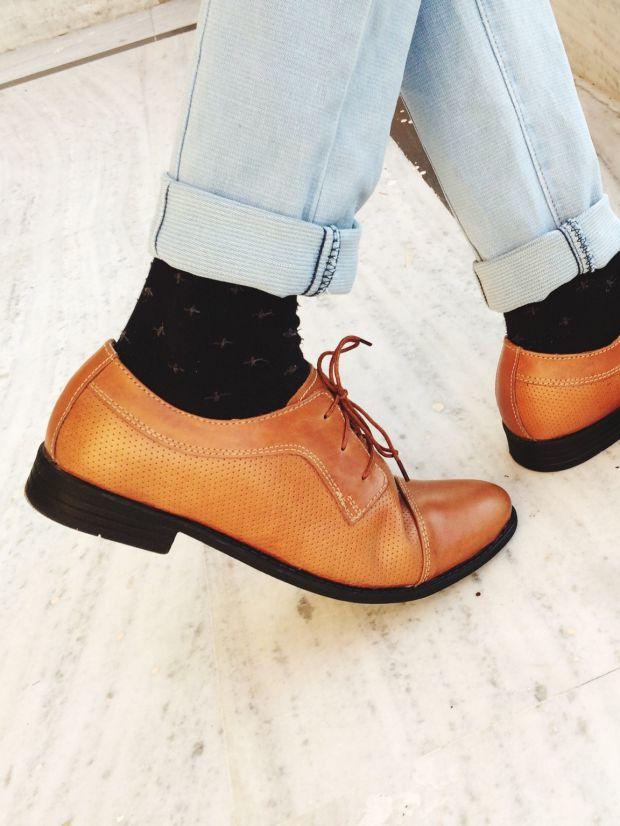 Avec quoi porter des chaussures cognac