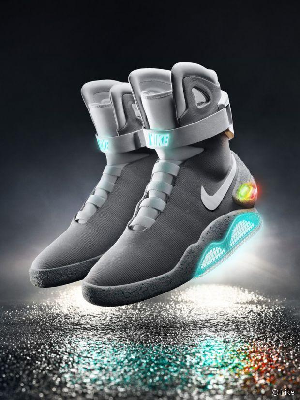 Les Air Mags de Nike, un autre spécimen de baskets du futur !