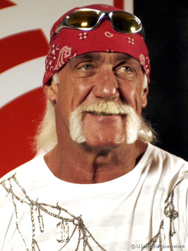 Hulk Hogan la porte bien, lui !