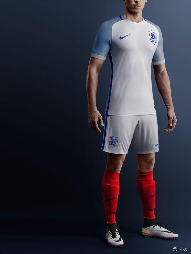 Le maillot de l'Angleterre à l'Euro 2016