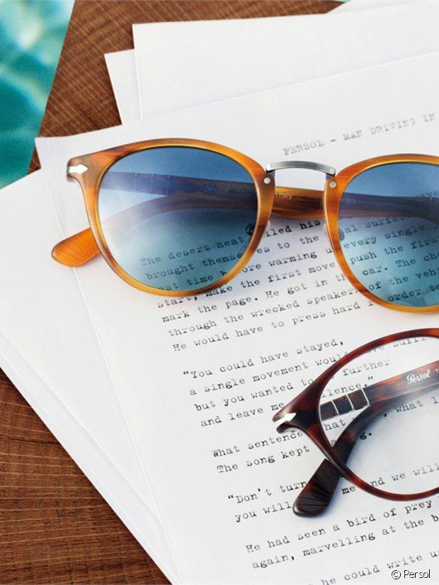Les lunettes de soleil Persol Typerwriter sont chics !