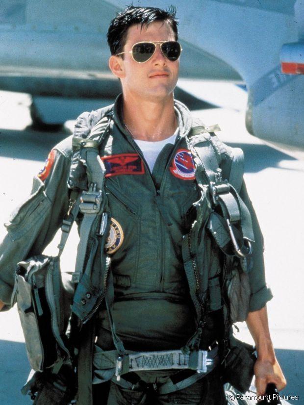 Tom Cruise dans Top Gun et sa légendaire Aviator de Ray-Ban