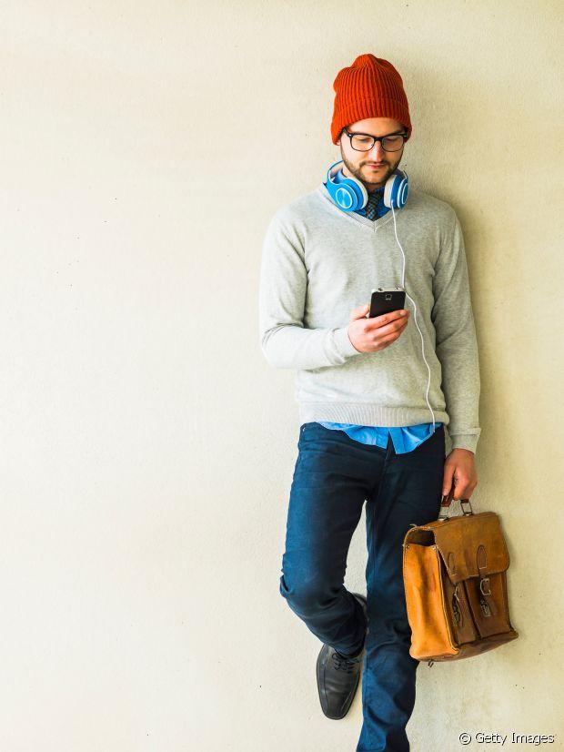 Qui dit cartable, dit hipster à bonnet. Non ?