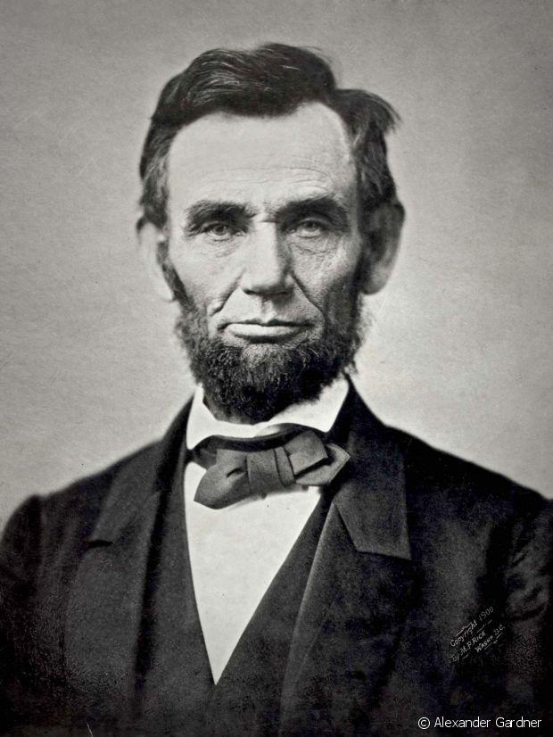 Abraham Lincoln maitrisait le collier