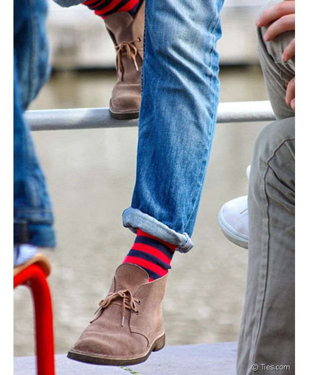 Les motifs collent biens aux jeans