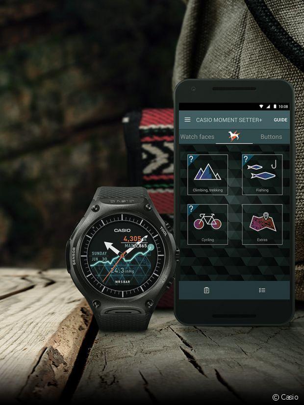 La Casio Smart Outdoor, une montre pour baroudeur