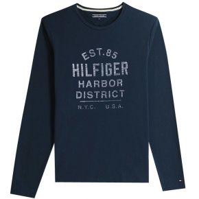 T-shirt sid - bleu - homme - tommy hilfiger -...