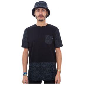 T-shirt wrung pocketribe noir. wrung noir