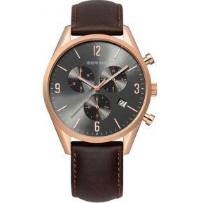 Montre bering 10542-562 - montre cuir ronde...