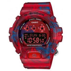 Petite montre casio g-shock rouge et fleurs...