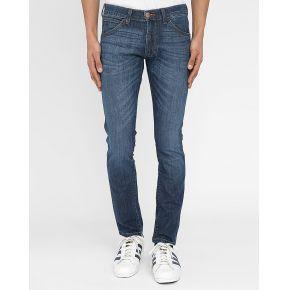 Jeans slim wrangler - jean slim bleu washed bryson