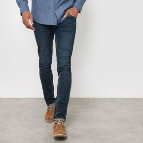 Le jean 5 poches coupe slim. r edition dirty