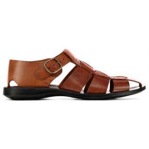 Sandales zeus nuageux marron homme