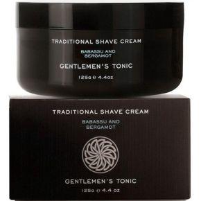 Creme a raser 100% naturelle. gentlemen's tonic...