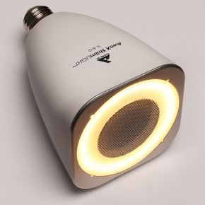 Ampoule sl-b10 led musicale bluetooth® blanc -...
