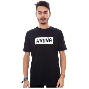 T-shirt wrung core logo noir. wrung noir