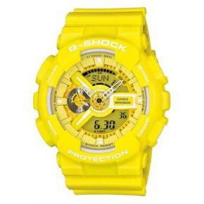 Montre casio g-shock jaune camouflage oversize...