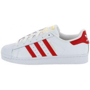 Adidas superstar foundatio. adidas blanc