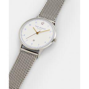 Montre À bracelet métallique en maillons