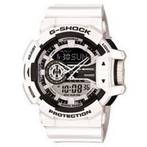 Montre casio g-shock blanc oversize ga-400-7aer...