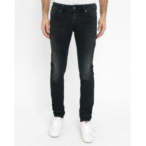 Jeans skinny diesel - jean skinny noir lavé...