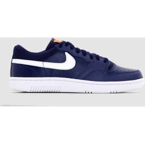 Nike court force low. nike bleu/blanc