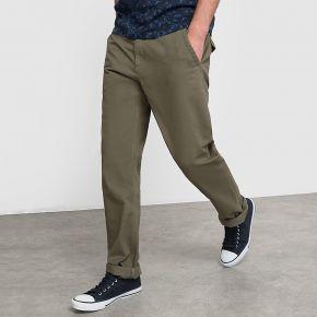 Pantalon chino coupe straight. r edition kaki